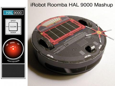 iRobot Roomba 562 Hal 9000 Mashup