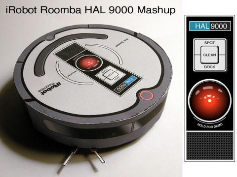 iRobot Roomba 562 HAL9000 Mashup