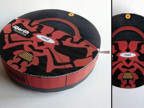 iRobot Roomba 400 and Darth Maul Mashup
