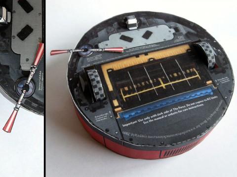 iRobot Roomba 400 Mashup bottom