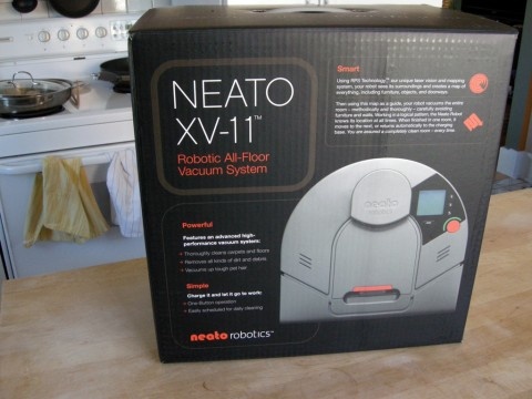 Neato Robotics XV-11 in box