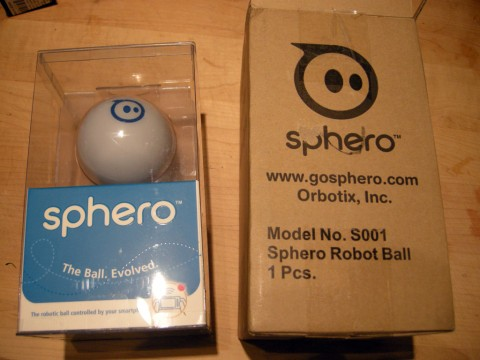 Orbotix Sphero Boxes