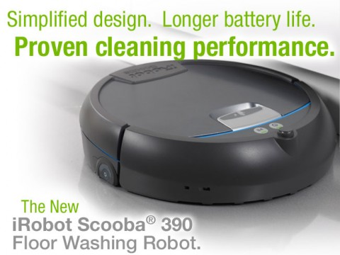 Scooba 390 Introduction